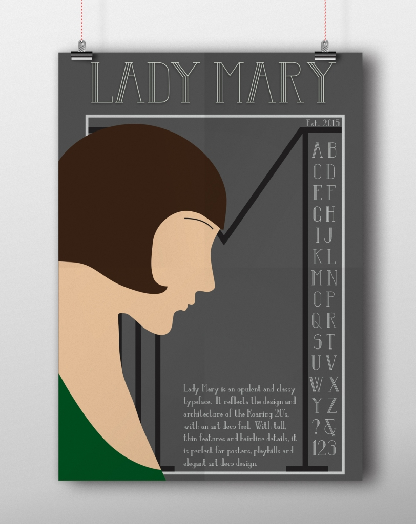 lady mary poster with clips
