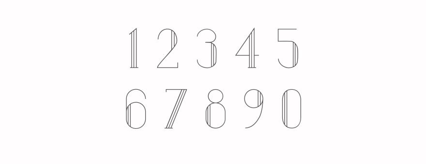 Numbers copy