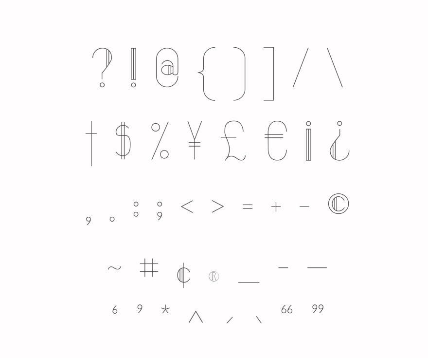 symbols copy