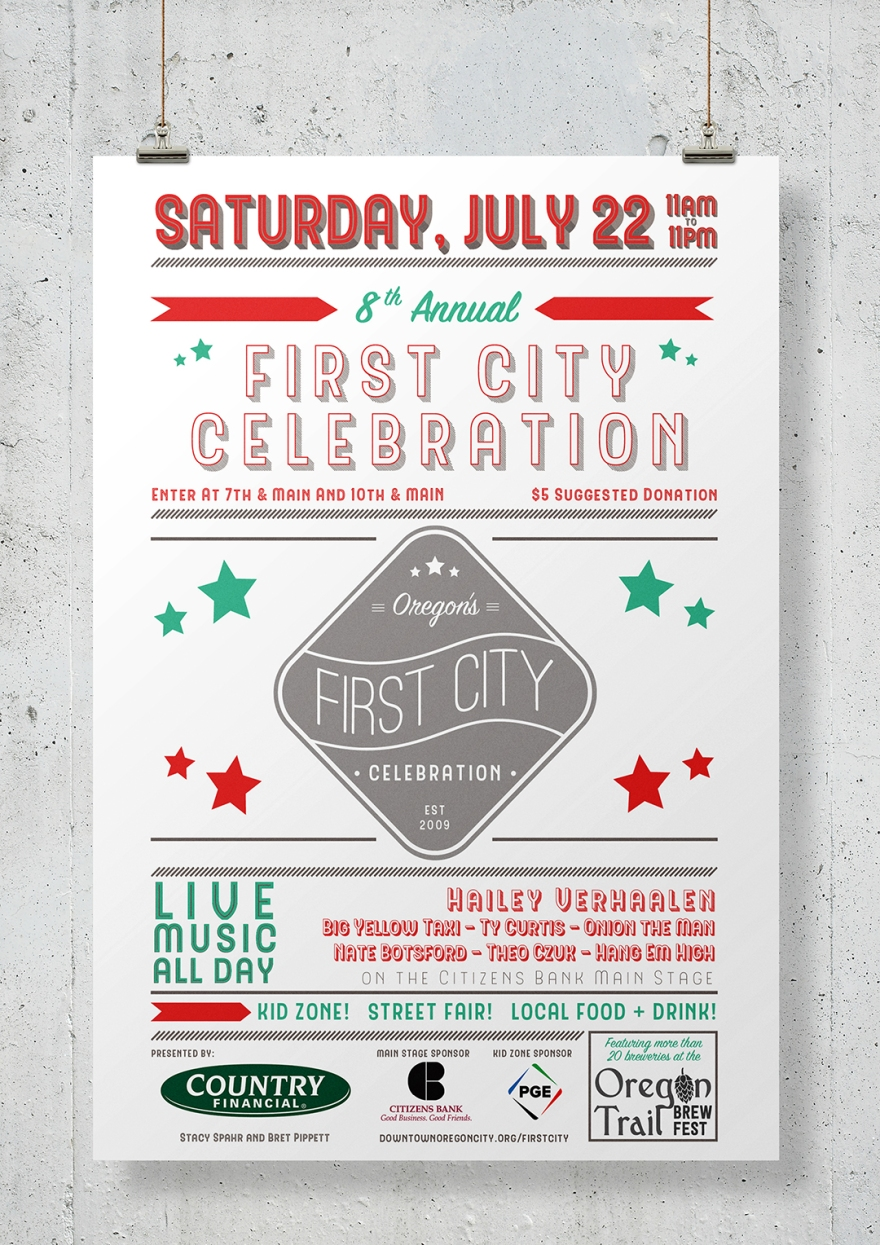 First City Poster